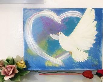 Spirit of love (blue)
