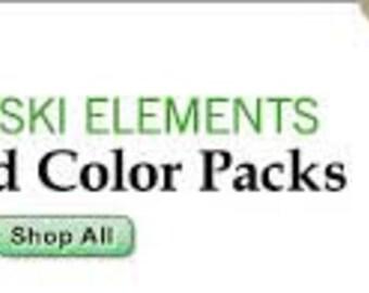 SWAROVSKI 5328 6mm Emerald - Pack 360 pcs