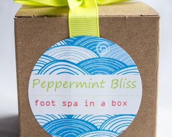 Peppermint Bliss Foot Spa-in-a-Box