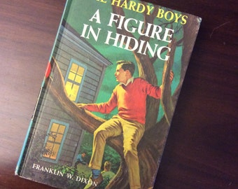 vintage children book... HARDY BOYS A Figure in HIDING  No 16 c 1965 hardcover Book ...