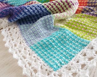 Crochet Pattern, Washburn Blanket, Throw, Afghan