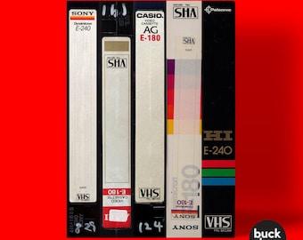 VHS Cassette Tape - Greeting Card