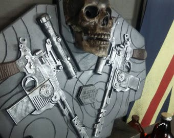 Call Of Duty Zombies Mauser Display W/ LED EYES