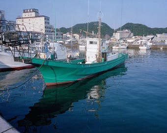 Fishing Boat in Katsuura Harbor
