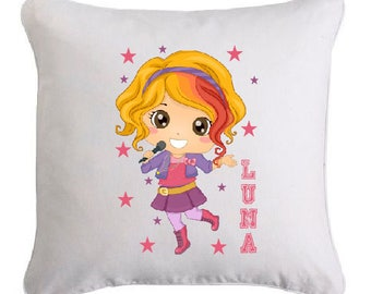 LITTLE STAR pillow personalized with text of your choice