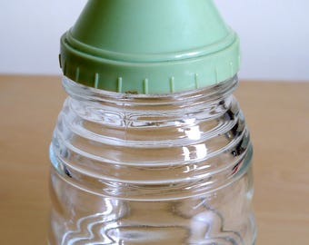 "Very retro, Fab 1950's Hygene ware ""Serve a Spoon sugar dispenser, kitchenalia"
