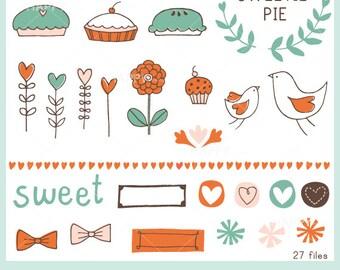 Sweetie Pie CLIP ART Set