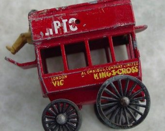 Vintage Red Toy Wagon