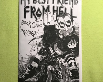 My Best Friend from Hell: Prologue - A Comic Zine