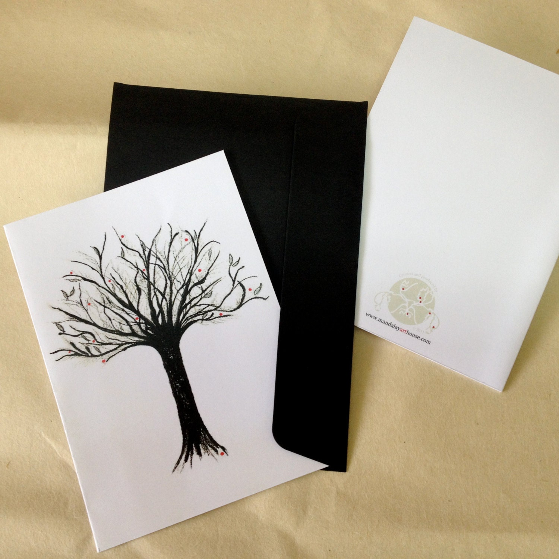 Tree of life art card blank inside zoom kristyandbryce Gallery