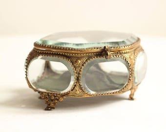 Antique jewelry boxes Etsy