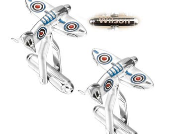 Space Shuttle Cufflinks Personalized Name Personalized Wedding aircraft cufflink