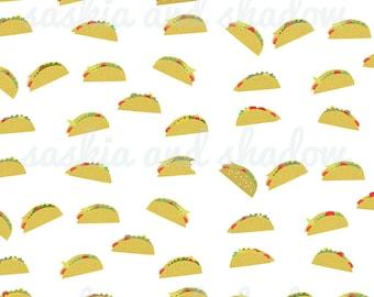 """A4 Print """"Tacos"""""""