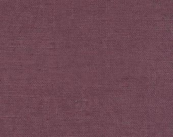 Sold red plum linen was cut from 25 cm