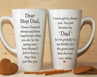 Step father gift, Step dad gift, Step father of the bride gift, Step father of the groom gift, Father's day gift, Step dad mug, Step father