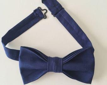 Blue Denim Bow Tie | Men's Bow tie