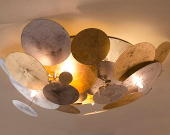 "LIMPETS Collection ""Limpets"" Circular Ceiling Light"