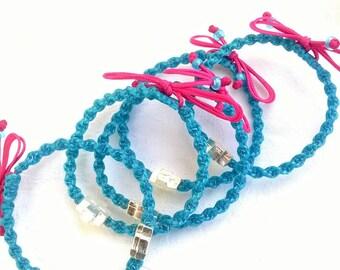 Martyrika bracelets First Communion favors Orthodox baptism witness bracelets Christening favors for girls or boys (10 bracelets)