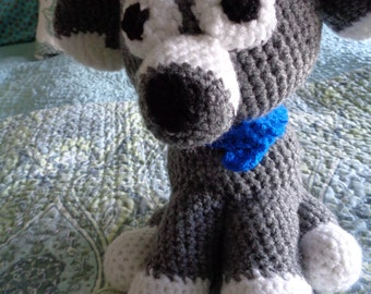 Puppy Hand Crocheted Large Dog