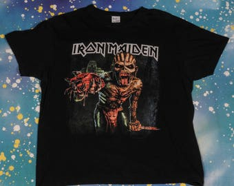 IRON MAIDEN Book of Souls Tour T-Shirt Size XL