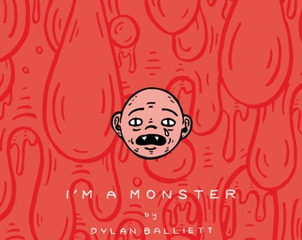 I'm A Monster // Art Book