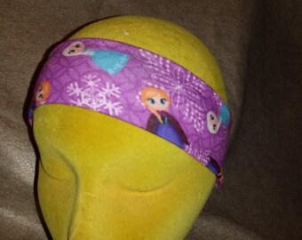 Inspired Elsa Anna Frozen Poly/Lycra Stretch Knit Yoga Running Fitness Headband - SALE