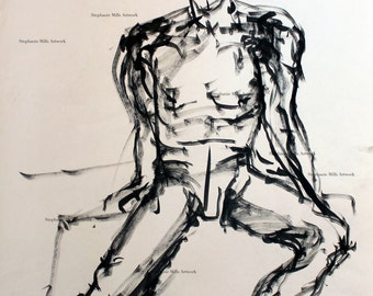 sum ink figure drawing No. 2