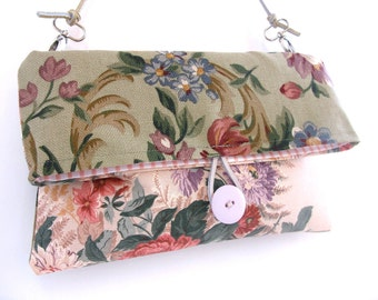 Henri Matisse Tapestry Simple Clutch- Ralph Lauren Fabric