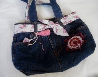 Kids jeans bag