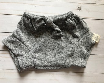 Heathered grey shorties size 12-18M