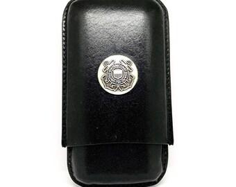 Coast Guard Cigar Case – Metallic