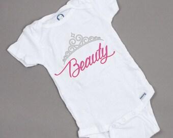 Beauty / Beast Baby Bodysuits