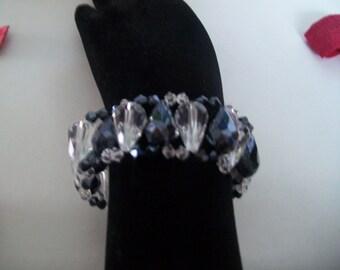 swarovski crystal drop bracelet