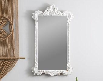 Antique White J.A. Olson Mirror