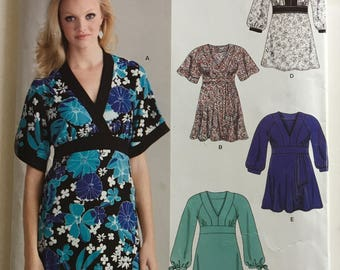 New Look Easy Tunic/Dress/Shirt Pattern #6620 PATTERN ONLY