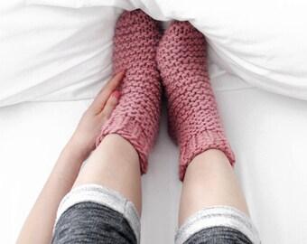 Make Your Own Slumber Bed Socks Knitting Kit