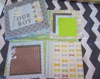 Our Boy 6 x 6 Scrapbook - Fill with your favorite pictures
