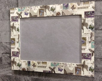 Decoupaged frame | photo frame