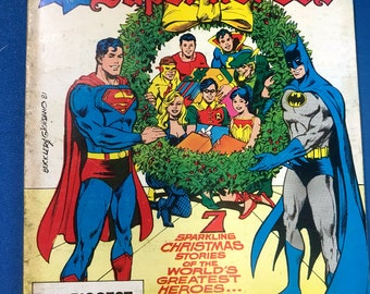Best Of DC #22 Christmas With The Super Heroes March 1982 Digest Superman Batman