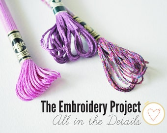 All in the Details - PDF Hand Embroidery Class