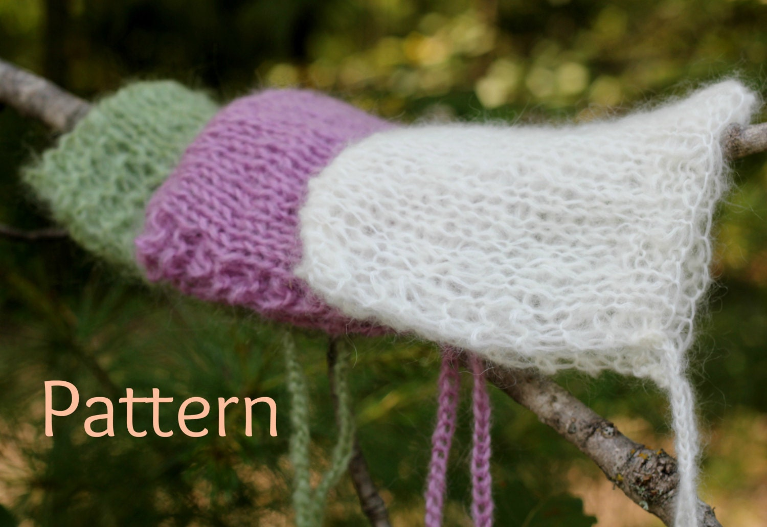 Awesome Knitting Pattern For Baby Bonnet Component - Easy Scarf ...