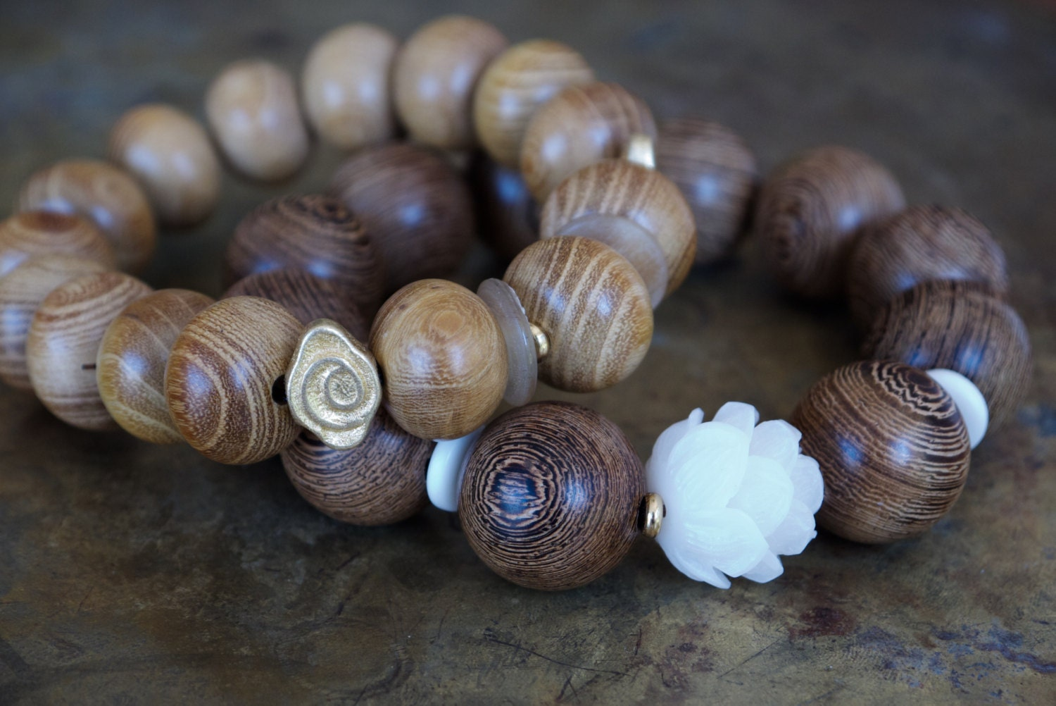 cool meditation cuff beads wooded bead wood bracelets for pulseras charm woman elastic product bracelet jewelry wooden