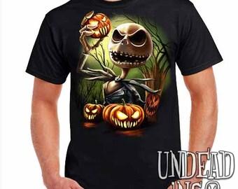 Nightmare Before Christmas Pumpkin King Jack Skellington - Mens T Shirt
