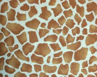 Michael Miller - TALLEST GIRAFFE (Tan) - 100% Cotton Premium Quality Fabric - Per 1/2 Yard