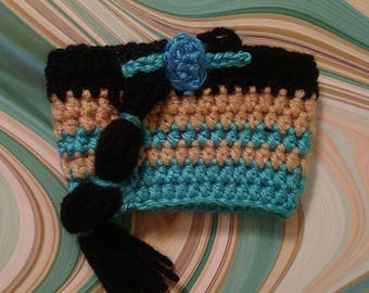 Jasmine inspired cup cozy. Made to order