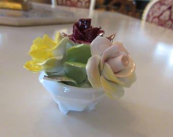 ENGLAND ROYAL ADDERLEY Rose Bouquet