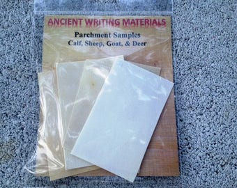 Ancient Writing Materials: Parchment