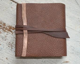Bullhide Leather Journal Lined Diary Pocket Notebook Leather Engraving Lined Pocket Diary Art Sketchbook Gift for Graduate Custom (495B)