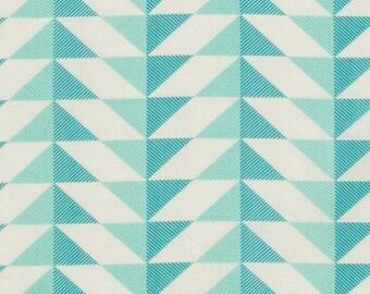 Joel Dewberry, Modernist, Arrowhead, Aegean, teal, turquoise, blue, geometric, see coordinates, Free Spirit