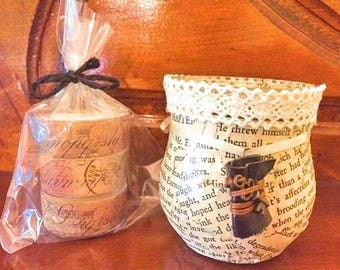Wuthering Heights candle holder